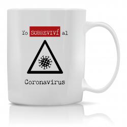 Taza Sobreviví al Coronavirus