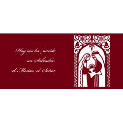 Imagen de taza con frase Hoy nos ha nacido un Salvador: el Mesías, el Señor