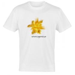 Camiseta Explosión amarillo