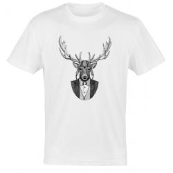 Camiseta cabeza ciervo
